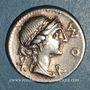 Monnaies République romaine. Man. Aemilius Lépidus (vers 114-113 av. J-C). Denier