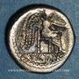 Monnaies République romaine. Marcus Porcius Cato (vers 89 av. J-C). Quinaire
