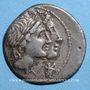 Monnaies République romaine. Mn. Fonteius (vers 108-107 av. J-C). Denier