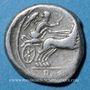 Monnaies République romaine. Monnayage anonyme (157-155 av. J-C). Denier