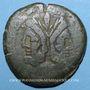 Monnaies République romaine. Monnayage anonyme (169-157 av. J-C). As