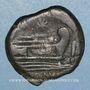 Monnaies République romaine. Monnayage anonyme (169-158 av. J-C). As