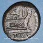 Monnaies République romaine. Monnayage anonyme (206 -195 av. J-C). As.