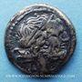 Monnaies République romaine. Monnayage anonyme (211-210 av. J-C). Victoriat