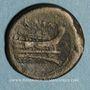 Monnaies République romaine. Monnayage anonyme (217-215 av. J-C). 1/2 once