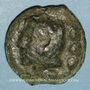 Monnaies République romaine. Monnayage anonyme (222-205 av. J-C). Quadrans