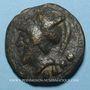 Monnaies République romaine. Monnayage anonyme (222-205 av. J-C). Triens