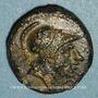 Monnaies République romaine. Monnayage anonyme, 245-235 av. J-C. Litra