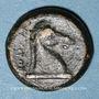 Monnaies République romaine. Monnayage anonyme. Litra, 273-270 av. J-C
