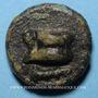 Monnaies République romaine. Monnayage anonyme. Uncia, 269-240 av J-C