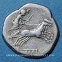 Monnaies République romaine. Monnayage anonyme (vers 189-179 av. J-C). Denier