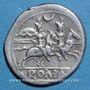 Monnaies République romaine. Monnayage anonyme (vers 194-189 av. J-C). Denier