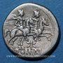 Monnaies République romaine. Monnayage anonyme (vers 206-194 av. J-C). Denier