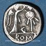 Monnaies République romaine. Monnayage anonyme (vers 81 av. J-C). Quinaire