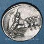 Monnaies République romaine. Monnayage anonyme (vers 86 av. J-C). Denier