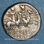 Monnaies République romaine. P. Aelius Paetus (vers 138 av. J-C). Denier