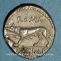 Monnaies République romaine. P. Satrienus (vers 77 av. J-C). Denier