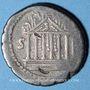 Monnaies République romaine. Petillius Capitolinus (vers 43 av. J-C). Denier