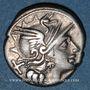 Monnaies République romaine. Pinarius Natta (vers 149 av. J-C). Denier