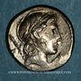 Monnaies République romaine. Pub. Crepusius (vers 82 av. J-C). Denier