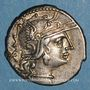 Monnaies République romaine. Publius Calpurnius (vers 133 av. J-C). Denier