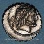 Monnaies République romaine. Q. Antonius Balbus (vers 83-82 av. J-C). Denier dentelé