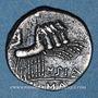 Monnaies République romaine. Q. Curtius et M. Junius Silanus (vers 116-115 av. J-C). Denier