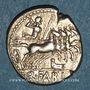Monnaies République romaine. Q. Fabius Labeo (vers 124 av. J-C). Denier