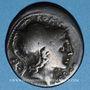 Monnaies République romaine. Q. Lutatius Cerco (vers 109-108 av. J-C). Denier