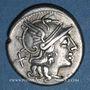 Monnaies République romaine. Spurius Afranius (vers 150 av. J-C). Denier