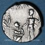 Monnaies République romaine. Ti. Veturia (vers 137 av. J-C). Denier