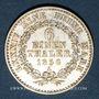 Münzen Anhalt-Bernbourg. Alexandre Charles (1834-1863). 1/6 taler 1856A