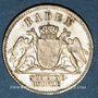 Münzen Bade. Frédéric I, grand duc (1856-1907). 3 kreuzer 1870