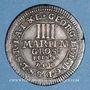 Münzen Brunswick-Calenberg-Hanovre. Georges Louis (1698-1727). 4 mariengroschen 1714HCB Clausthal