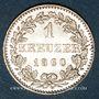 Münzen Francfort. Ville. 1 kreuzer 1860