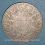 Münzen Francfort. Ville. Double taler 1854