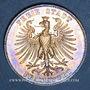 Münzen Francfort. Ville. Taler 1859. 100e anniversaire d la naissance de Schiller