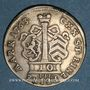 Münzen Hanau-Münzenberg. Guillaume IX sous la régence de Marie d'Angleterre (1760-64). 10 kreuzers 1763IIE