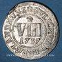 Münzen Julich-Berg. Charles Philippe (1716-1742). 8 heller 1737FO
