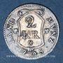 Münzen Palatinat-Kurlinie. Charles Théodore (1742-1799). 2 kreuzer 1742 O