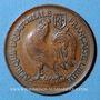 Münzen Afrique Equatoriale Française. 1 franc 1943SA. Prétoria