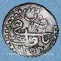Münzen Algérie. Abd-el-Kader, émir (1248-1264H = 1832-1847). 5 aspres 1256H (= 1840)