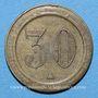 Münzen Algérie. Alger. J. L. 30 centimes