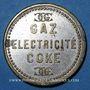 Münzen Algérie, Alger, Lebon & Cie (gaz, électricité, coke), sans valeur