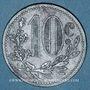 Münzen Algérie. Chambre de Commerce d'Alger. 10 centimes 1917. Zinc