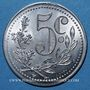 Münzen Algérie, Chambre de Commerce d'Alger, 5 cent 1919 aluminium