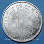 Münzen Algérie, Chambre de Commerce de Bône, 1 franc n.d., essai en maillechort