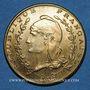 Münzen Algérie, Chambre de Commerce de Bône, 1 franc n.d., laiton