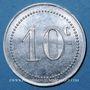 Münzen Algérie, Chambre de Commerce de Bougie, 10 cent 1915