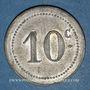 Münzen Algérie. Chambre de Commerce de Bougie. 10 cent 1915